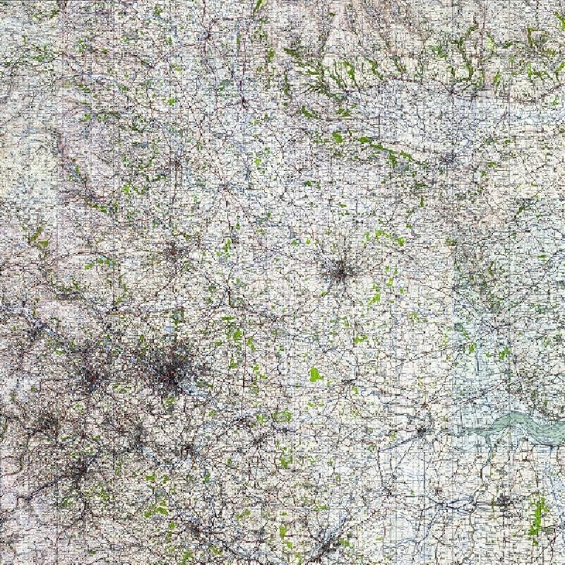SE 1940s Map Tile