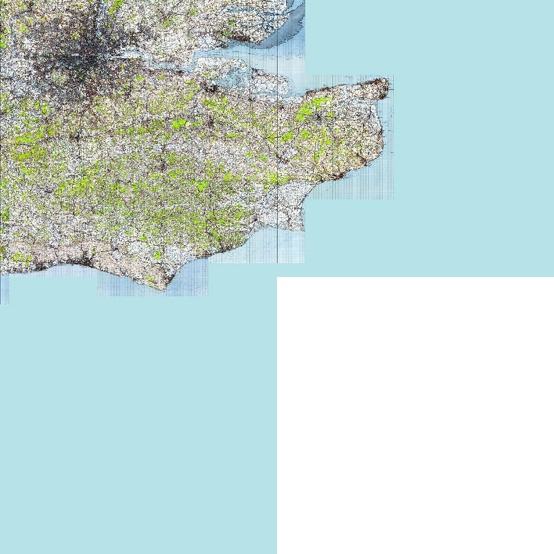 TQ + TR + TV 1940s Map Tiles