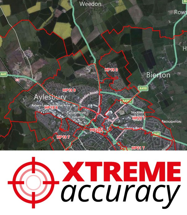 Xtreme Accuracy Postcode Sector Boundaries - Overview