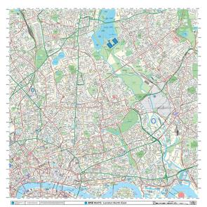 London XYZ CityMap - London North East - Thumbnail