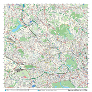 London XYZ CityMap - London North West - Thumbnail