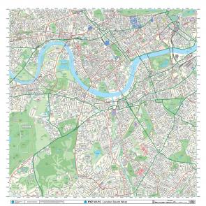 London XYZ CityMap - London South West - Detail 1