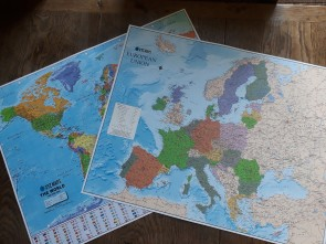 Scottish Double Sided Map - Overview
