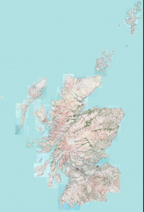Scotland - Complete 1920s Map Image - Overview