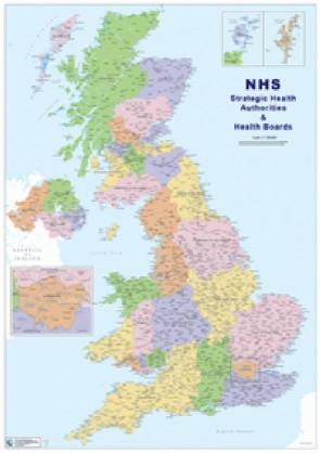 UK Strategic Health Authorities / Boards - GeoPDF