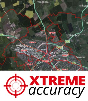 XYZ Postcode Sector Boundaries - Overview