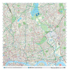 London XYZ CityMap - London North East Wall Map